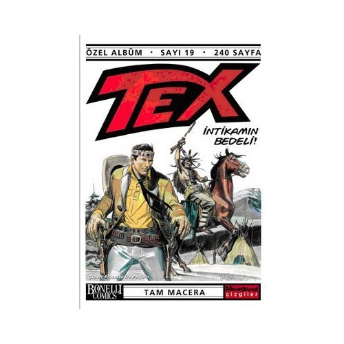 Tex Özel Albüm Sayı: 19 İntikamın Bedeli