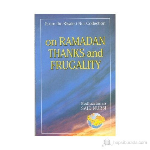 On Ramadan Thanks And Frugality (İngilizce)