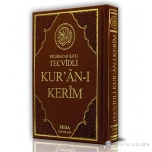 Bilgisayar Hatlı Tecvidli Kur'an-ı Kerim (Renkli Orta Boy, Kod: 023) (Türkçe Fihristli)