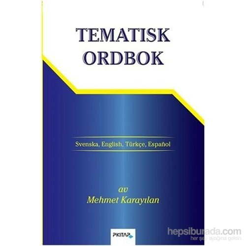 Tematisk Ordbok-Mehmet Karayılan