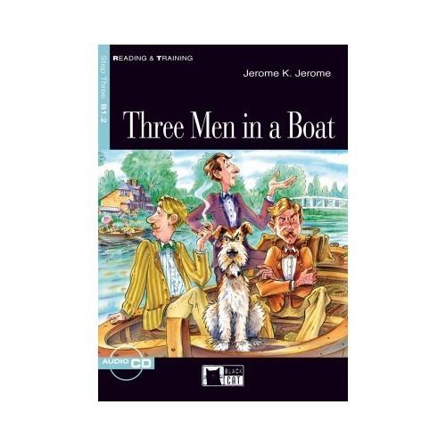 Cideb Yayınları Three Men İn A Boat Black Cat