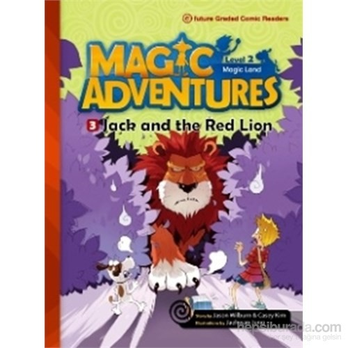 Jack and the Red Lion +CD (Magic Adventures 2)