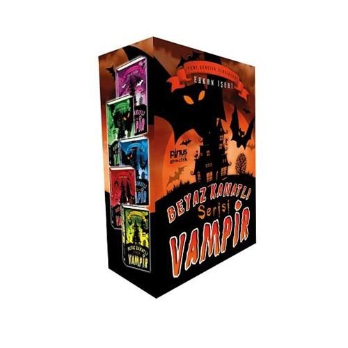 Beyaz Kanatlı Vampir Seti (5 Kitap Kutulu) - Erkan İşeri