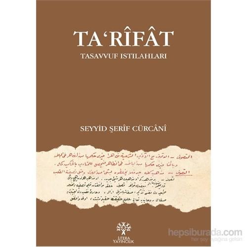 Ta'rîfât - Tasavvuf Istılahları