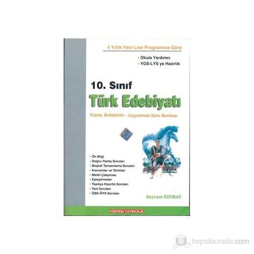 Yöntem Yayın 10.Sınıf Türk Edebiyatı Konu Anlatımlı Uygulamalı Soru Bankası