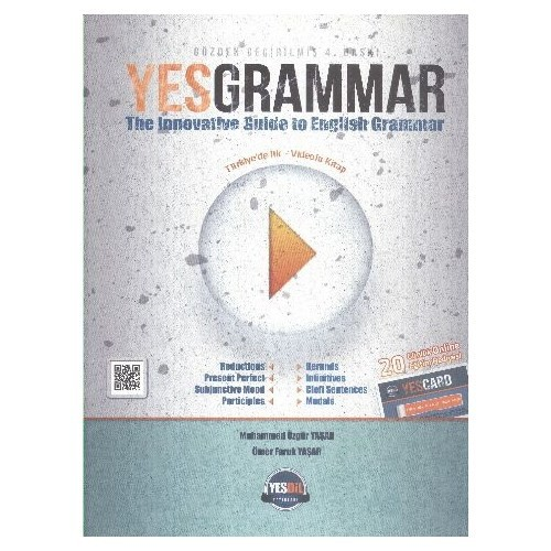 Yes Grammar The Innovative Guide To English Grammar