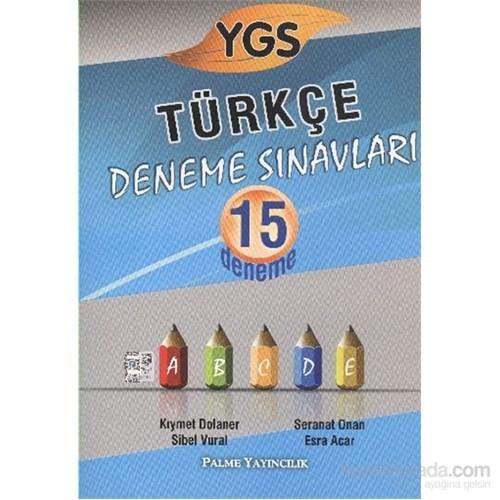 Palme YGS Türkçe Deneme Sınavları 15 Deneme