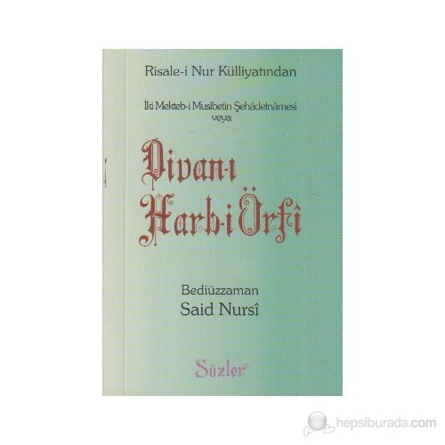 İki Mekteb-İ Musibetin Şehadetnamesi Veya Divan-I Harb-İ Örfi (Cep Boy)