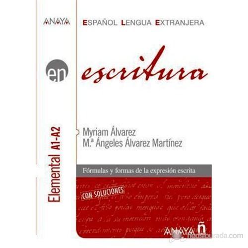 Escritura - Nivel Elemental A1-A2 (İspanyolca yazma – temel seviye)