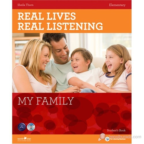Real Lives, Real Listening: My Family+CD A2-B1 Elementary