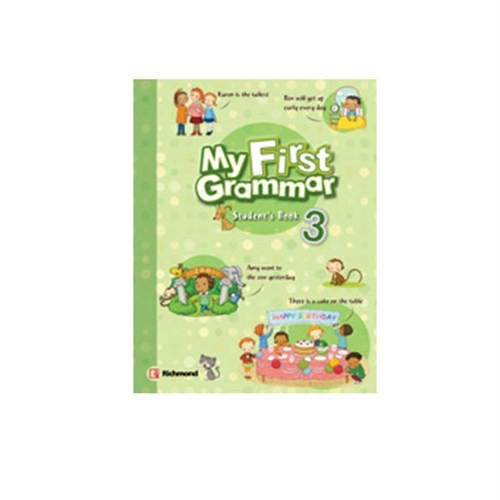 Richmond Publishing My First Grammar Student's Book 3 Pack