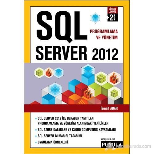 SQL Server 2012 - İsmail Adar