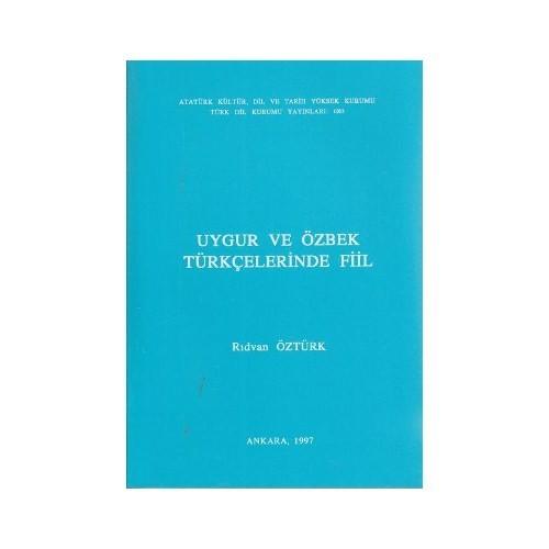 Uygur Ve Özbek Türkçelerinde Fiil-Rıdvan Öztürk