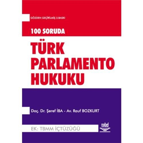 100 Soruda Türk Parlamento Hukuku