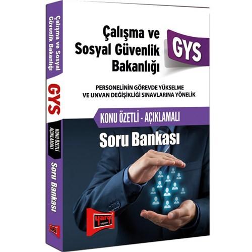 Yargı Gys 2016 Çalışma Ve Sosyal Güvenlik Bakanlığı Konu Özetli Soru Bankası