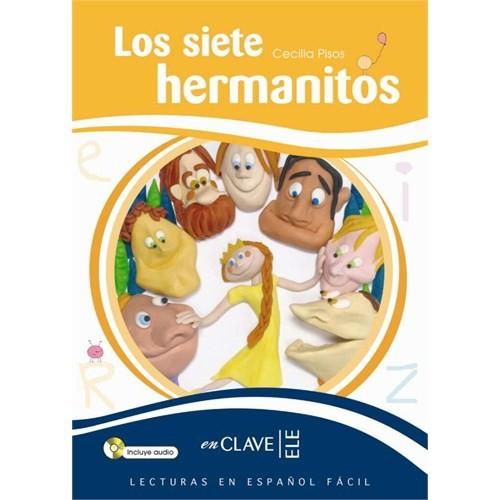 Los siete hermanitos +CD (LEEF Nivel-3) 7-10 yaş İspanyolca Okuma Kitabı