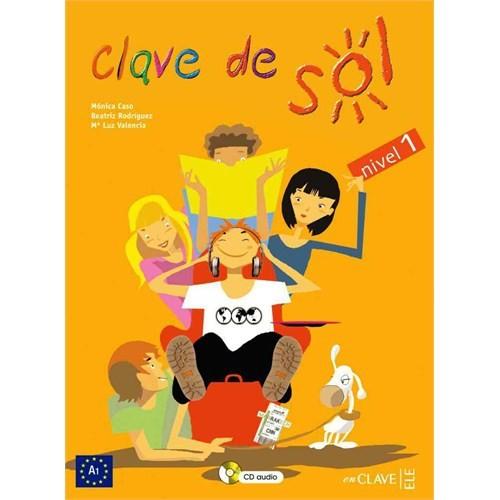 Clave de Sol 1 Libro del alumno (Ders Kitabı +CD) 10-13 yaş İspanyolca Temel Seviye