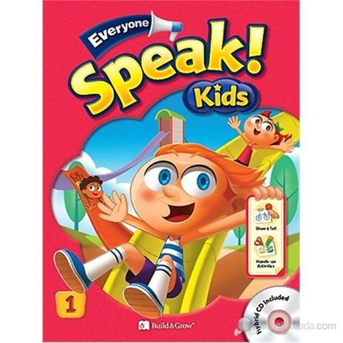 Everyone Speak Kids 1 with Workbook +Hybrid CD