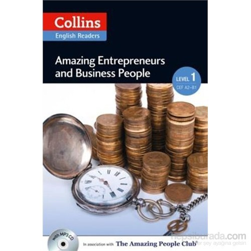 Amazing Entrepreneurs & Business People +Cd (A.People Readers 1) A2-Helen Parker