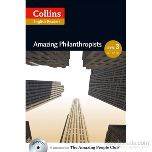 Amazing Philanthropists +CD (A.People Readers 3) B1