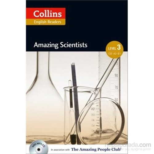 Amazing Scientists +Cd (A.People Readers 3) B1-Anne Collins