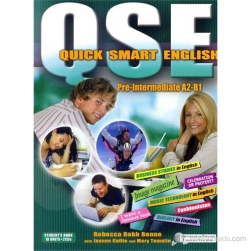 Quick Smart English A2-B1 Student's Book +2 CDs (Pre-Intermediate)