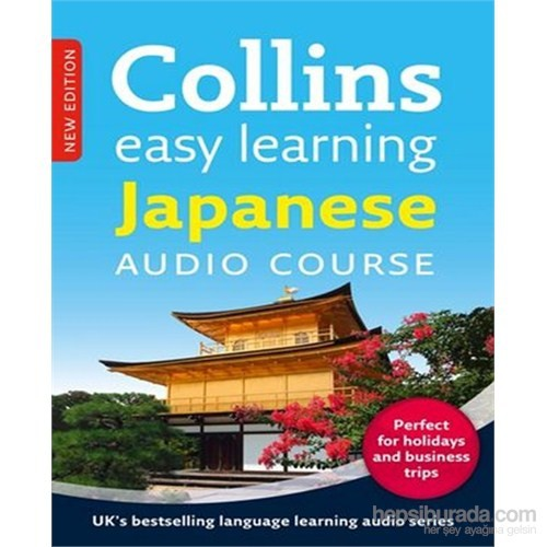 Easy Learning Japanese Audio Course (3 CDs +Booklet) –New Edition