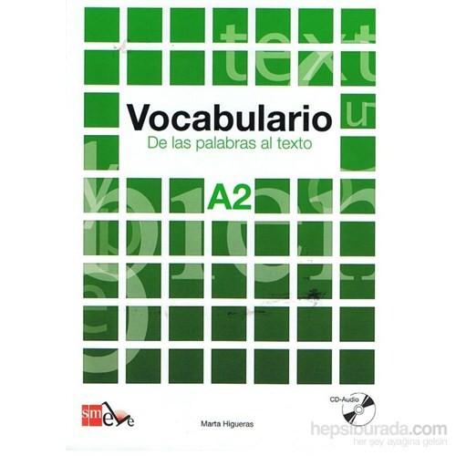 Vocabulario A2 De Las Palabras Al Texto & Cd