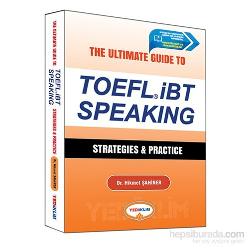 Yediiklim Toefl 2016 İbt Speaking Strategies Practice