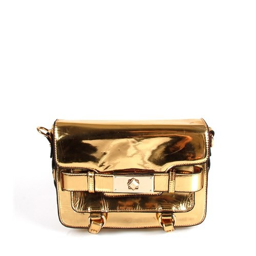 Jacqulıne 135-51 Gold-Gold Çapraz Bayan Çanta