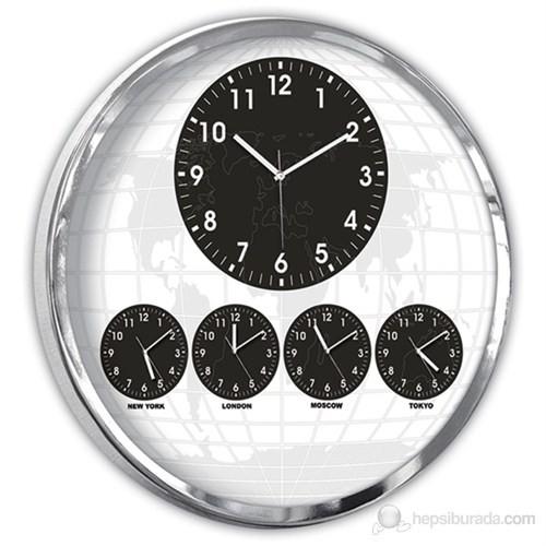 5'Li Dünya Saati Büyük Boy 60 cm