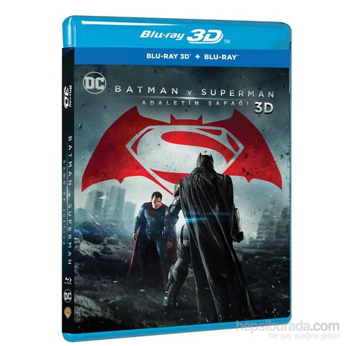Batman Vs Süperman: Dawn Of Justice (Batman V Süperman: Adaletin Şafağı) (3D Blu-Ray Disc)