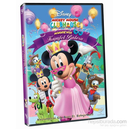 Mickey Mouse Clubhouse: Minnie's Masquarade (Mickey Mouse Clubhouse: Minnie's Kıyafet Balosunda ) (DVD)