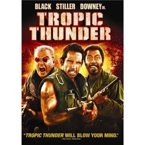 Tropic Thunder (Tropik Fırtına) (DVD)