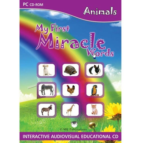 My First Miracle Words: Animals