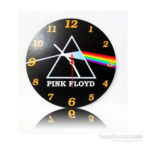 Köstebek Pink Floyd - Dark Side Of The Moon Ahşap Duvar Saati
