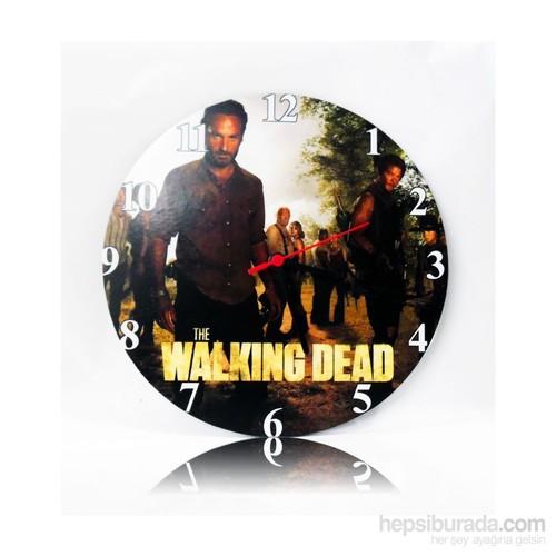 Köstebek The Walking Dead Ahşap Duvar Saati