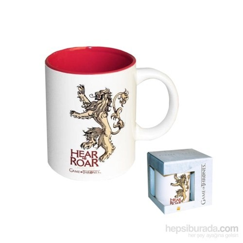Game Of Thrones Lannister Hear Me Roar Mug Bardak