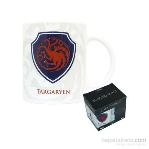 Game Of Thrones Targaryen Shield Ceramic Mug Kupa Bardak