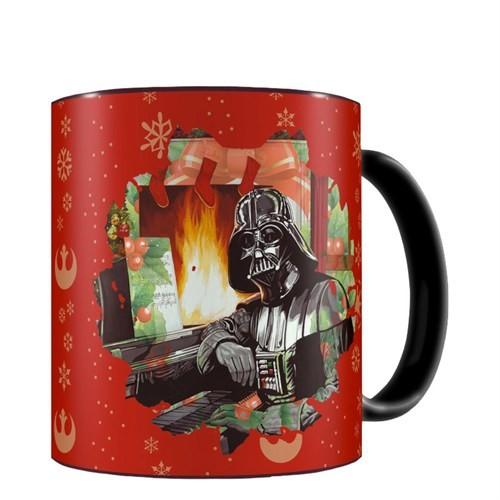 Sd Toys Star Wars: Darth Vader Christmas Mug Kupa Bardak