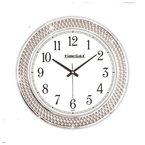 Time Gold Parıltı Duvar Saati