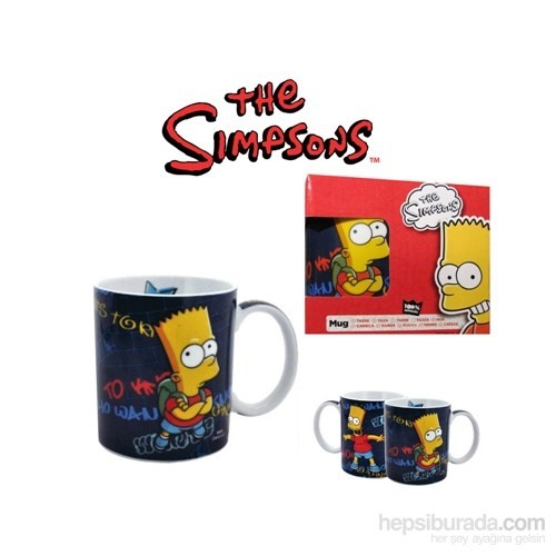 The Simpsons: Who Wants To Know Mug Kupa Bardak