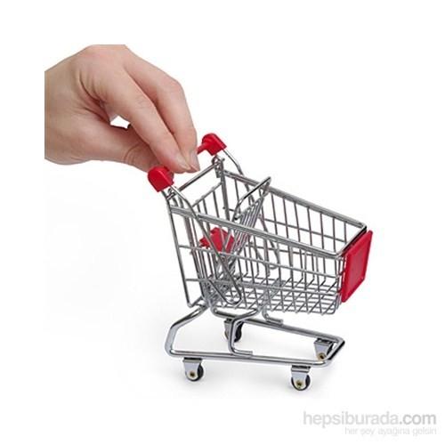 Mini Alışveriş Arabası Kalemlik