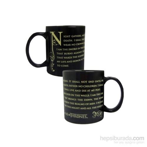 Game Of Thrones Night's Watch Oath Mug Bardak