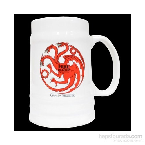 Game Of Thrones Targaryen Ceramic Stein Bardak
