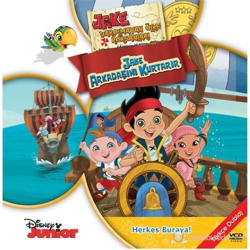 Jake ve Varolmayan Ülke Korsanları: Jake Arkadaşını Kurtarır (Jake and Neverland Pirates: Jake Saves Bucky) (VCD)