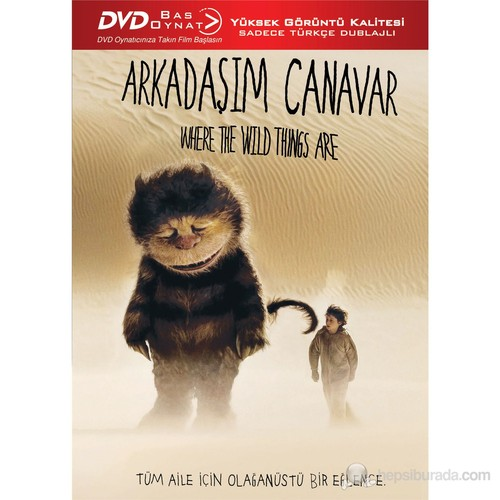 Arkadaşım Canavar (Where The Wild Things Are) (Bas Oynat)