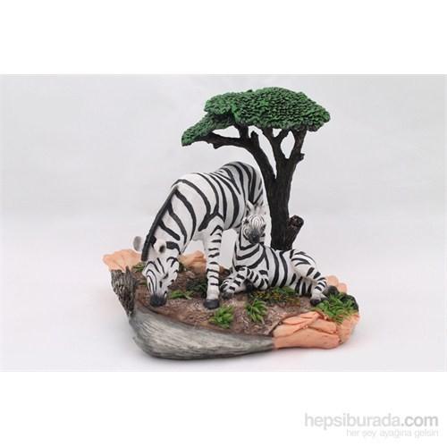 Zebra Figürlü Biblo