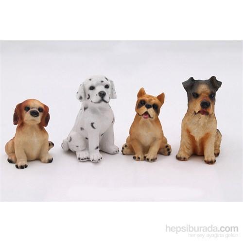 Köpekler Figürlü Biblo