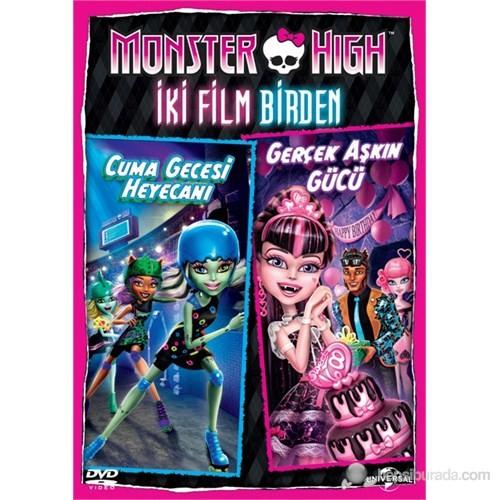 """Monster High: Friday Night Frights&Why Do Ghouls Fall in Love?"" (Monster High İki Film Birden) (DVD)"